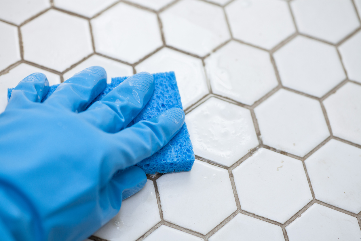 tile grout cleaning - J and R's Carpet Cleaning
