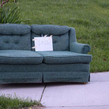 How to Get Rid of a Used Sofa - J and R's Carpet Cleaning, Saratoga, NY